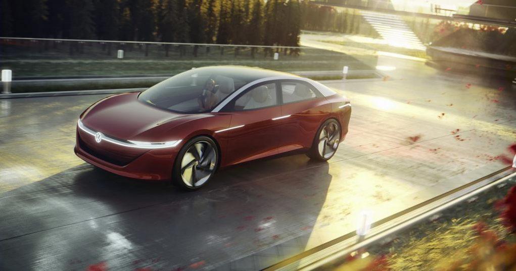 Volkswagen ID Vizzion Concept Left Front