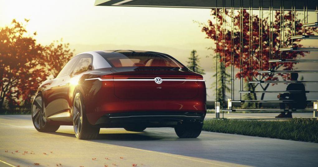 Volkswagen ID Vizzion Concept Rear 1