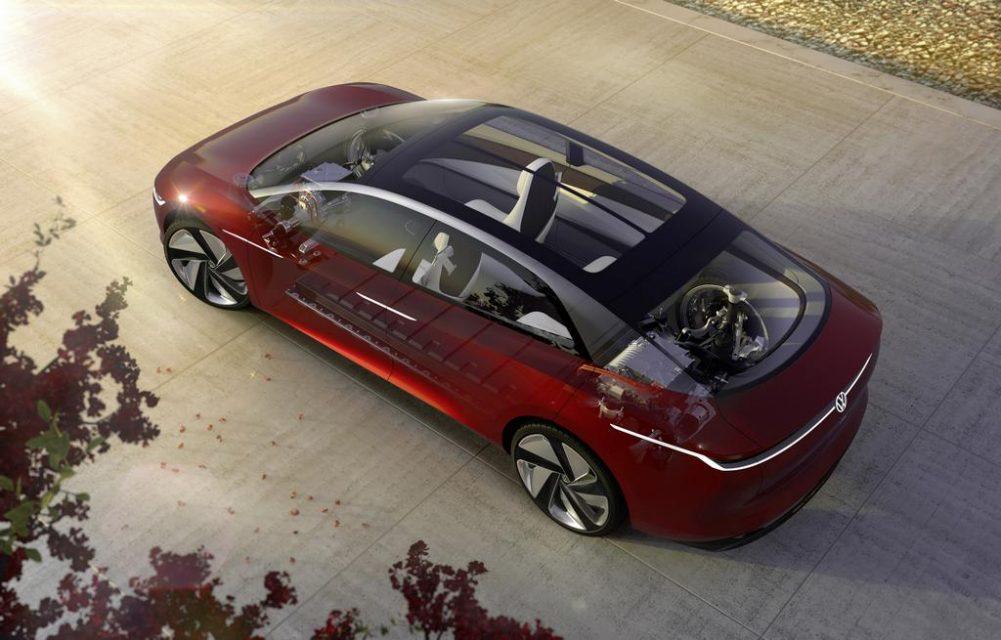 Volkswagen ID Vizzion Concept Sunroof