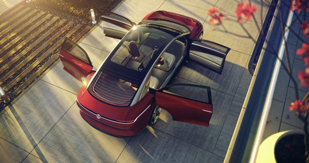 Volkswagen ID Vizzion Concept Top