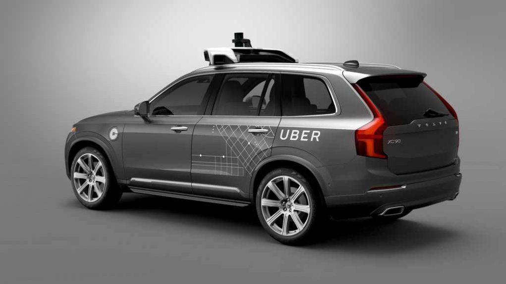 Volvo XC90 Uber driverless car 2