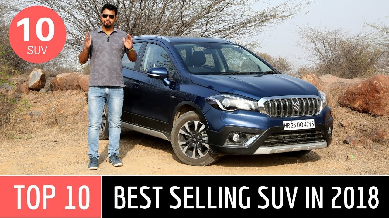 top 10 best selling suvs in india in 2018 video. Black Bedroom Furniture Sets. Home Design Ideas