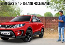 upcoming car in 10-15 lakh price