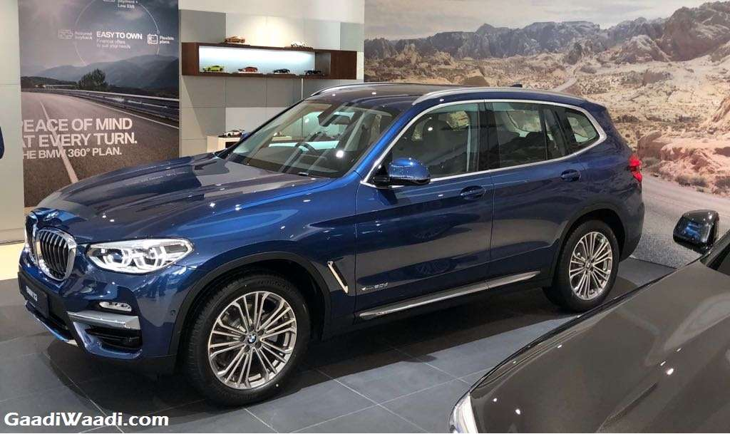 2018 BMW X3 Launched In India   Price, Engine, Specs, Features, Performance