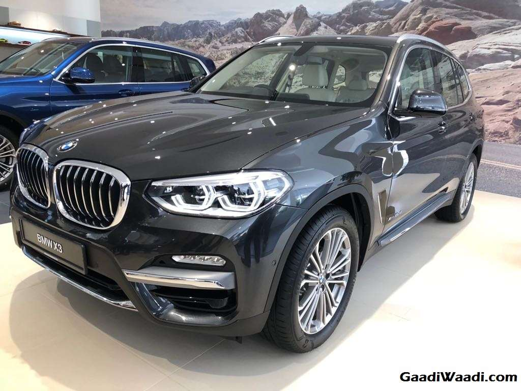 2018 bmw x3 launched in india price specs features engine interior. Black Bedroom Furniture Sets. Home Design Ideas