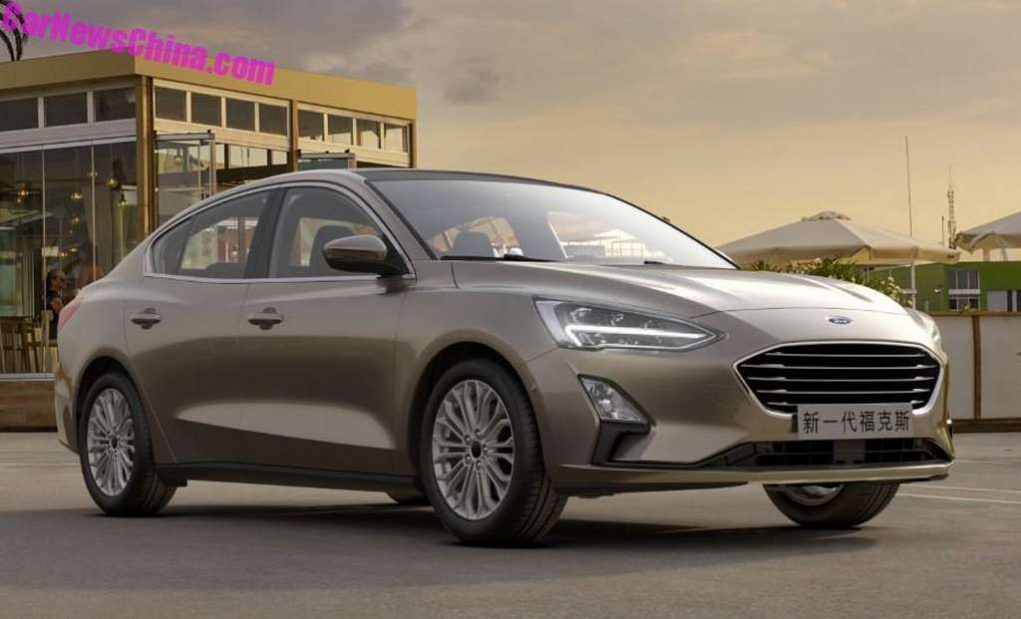 2018 Ford Focus Sedan Officially Unveiled In China 2
