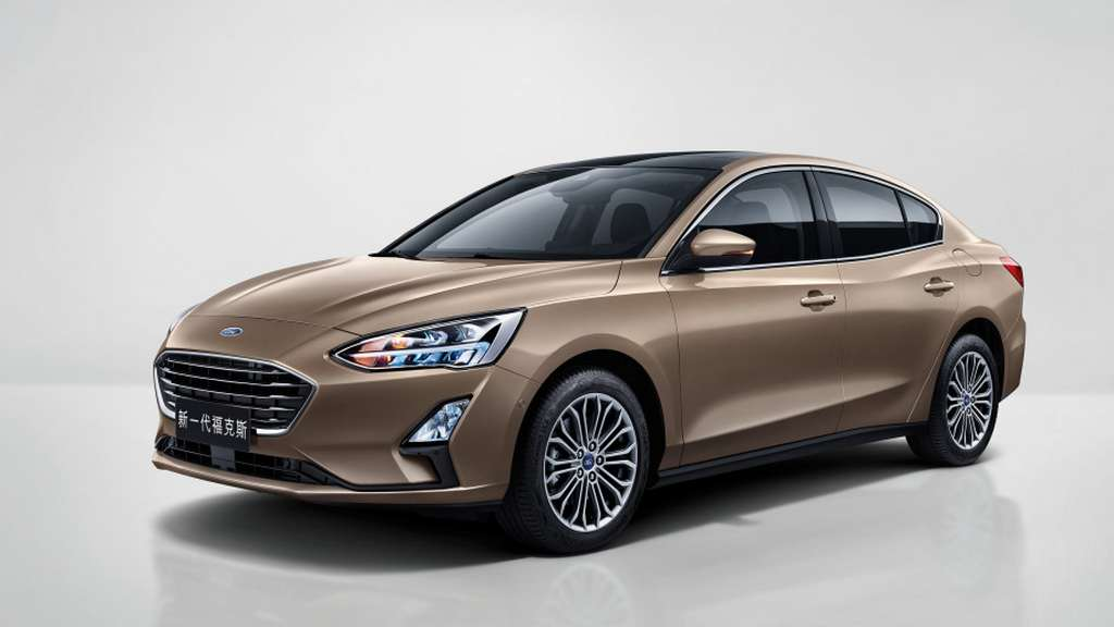 2018 Ford Focus Sedan Officially Unveiled In China (China Remove Limits On Foreign Carmakers)