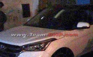 2018 Hyundai Creta Facelift Spied Undisugised In India During Ad Shoot