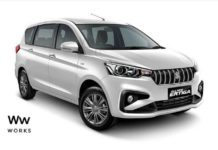 2018 Maruti Suzuki Ertiga Imagined With S-Cross And Baleno Design Elements 1