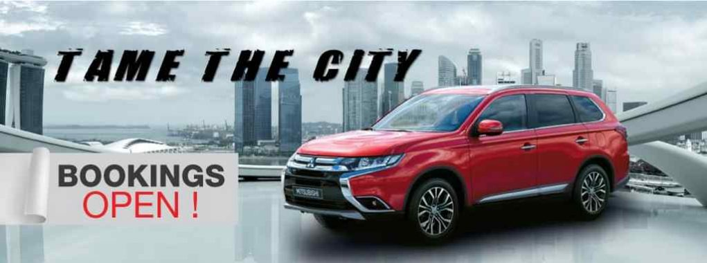 2018 Mitsubishi Outlander Booking Commences In India 1