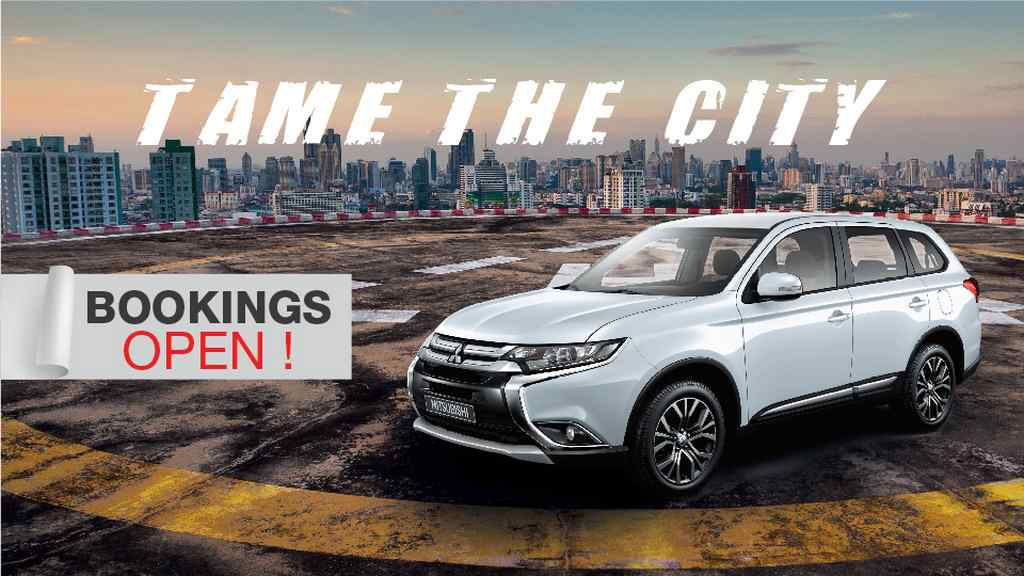 2018 Mitsubishi Outlander Booking Commences In India