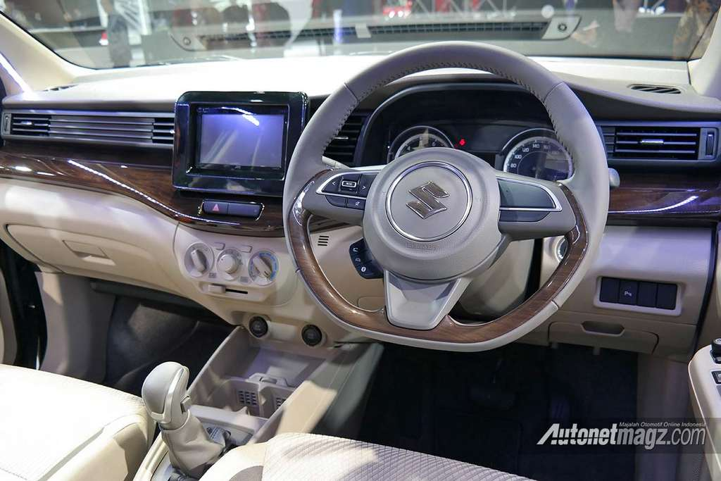 2018 Suzuki Ertiga Revealed Interior