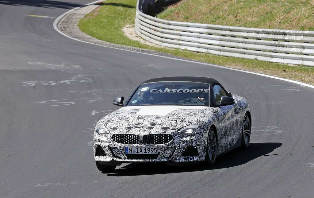 2019 Bmw Z4 Spotted Testing Again Ahead Of Paris Motor