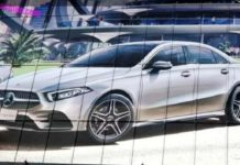 2019 Mercedes-Benz A-Class Sedan Leaked