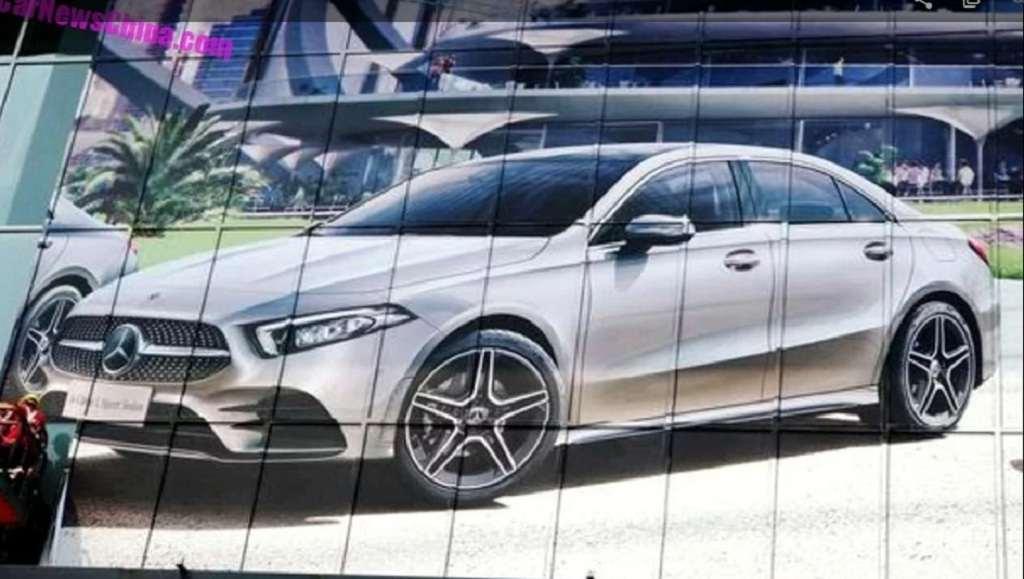 2019 Mercedes-Benz A-Class Sedan Leaked