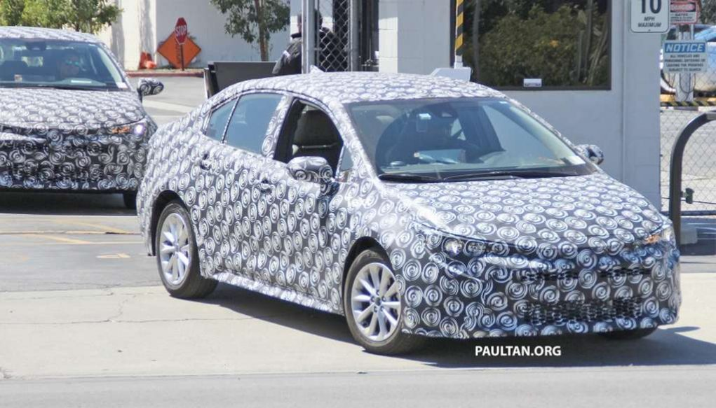2019 Toyota Corolla Spied 2