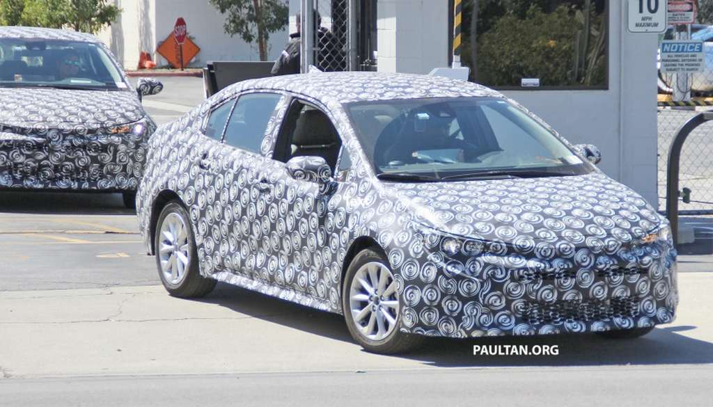 India Bound 2019 Toyota Corolla Spied Testing With Sporty Exterior