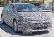 2019 New Toyota Corolla Spied