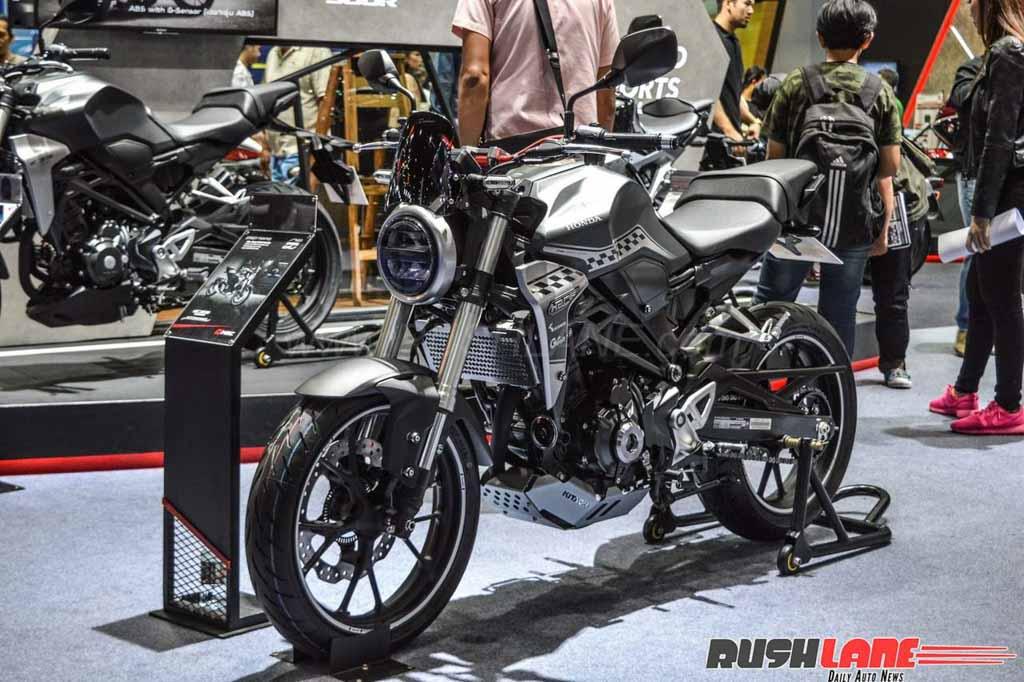 Accessorised Honda CB300R