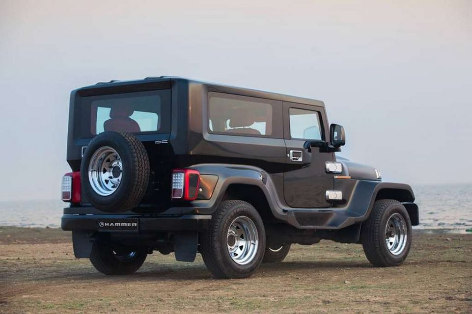 DC Hammer Based On Modified Mahindra Thar Is A Stunner 2