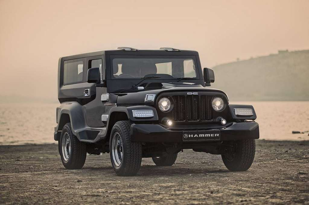 dc interiors dc modified mahindra thar full interior exterior Gaadiwaadi.com