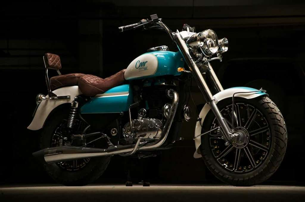 Eimor Customs' Cerulean Is A Harley-Inspired Royal Enfield Bullet 350 1
