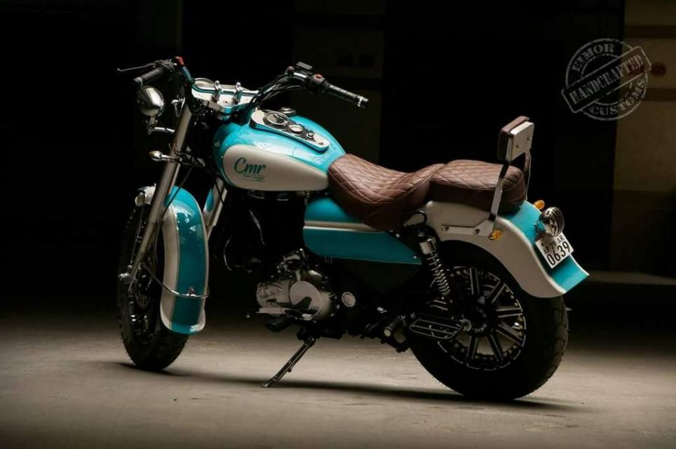 Eimor Customs' Cerulean Is A Harley-Inspired Royal Enfield Bullet 350 2
