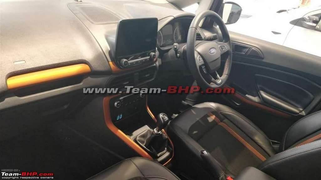 Ford Eco Sport Titanium S Interior