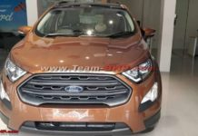 Ford EcoSport Titanium S Sunroof Six-Speed Manual