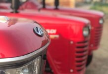 mahindra tractor sales
