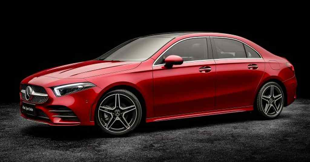 Mercedes A-Class L Sedan Auto China 2018 4