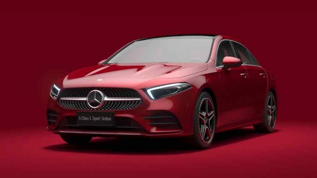 Mercedes A-Class L Sedan Auto China 2018 5