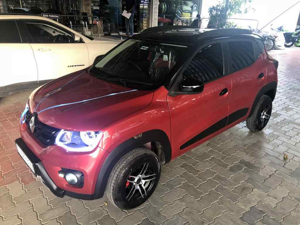 This Modified Renault Kwid Boasts Proud Suv Stance