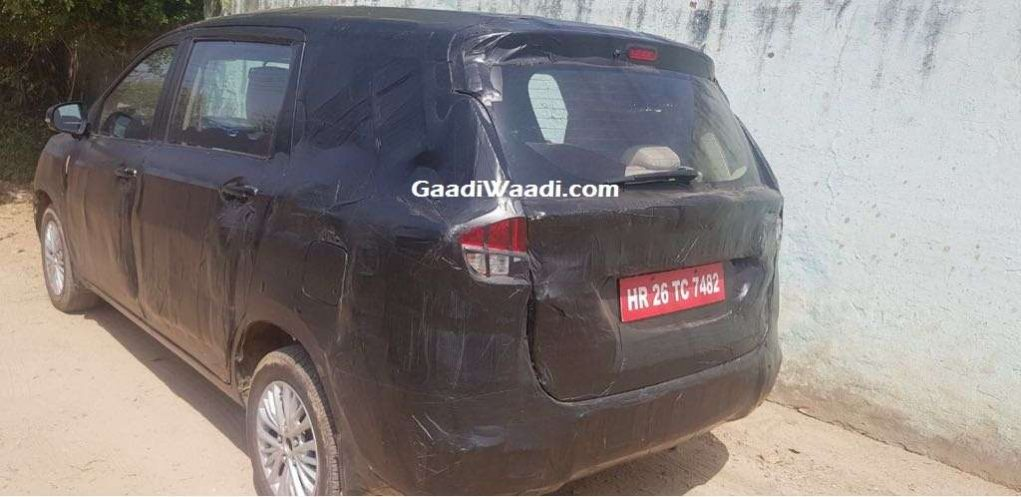 New Maruti Ertiga Rear