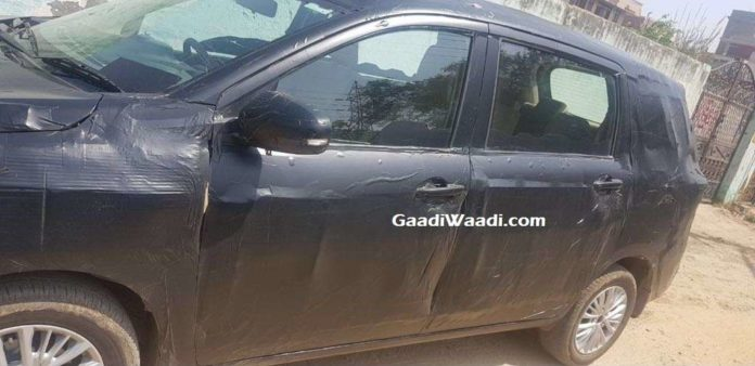 New Maruti Ertiga Side Profile