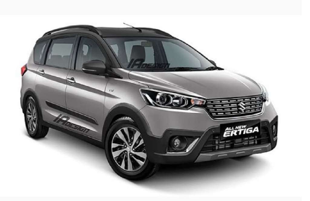 New Maruti Suzuki Ertiga Cross Rendered With Mean Styling