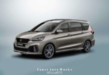New Maruti Suzuki Ertiga Sport Rendered With Stylish Body Kit