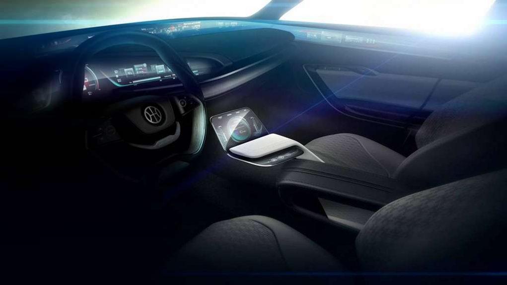 Pininfarina H500 Sedan Concept Interior