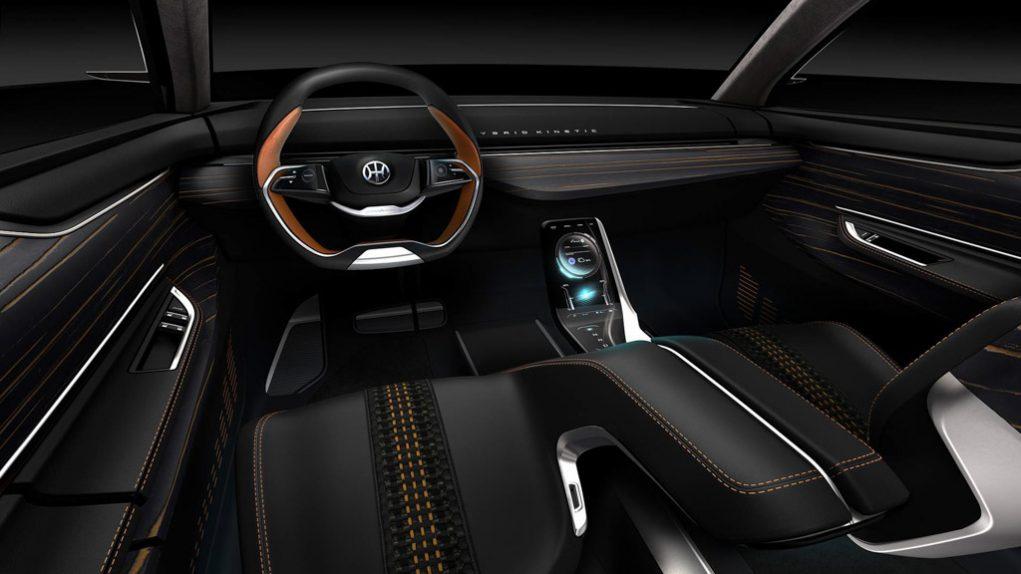 Pininfarina K350 Concept Interior