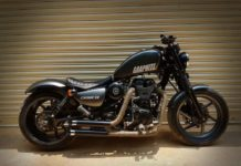 Royal Enfield Thunderbird 350 Graphite by Bulleteer Customs