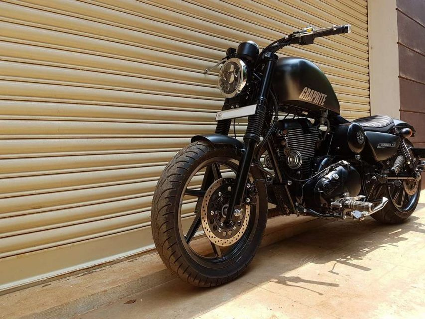 Royal Enfield Thunderbird 350 Graphite by Bulleteer Customs 3