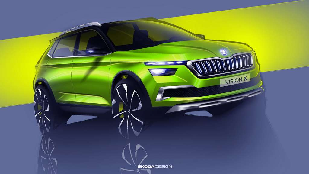Skoda Vision X Concept 4 (Made-In-India Skoda Mid Size SUV)