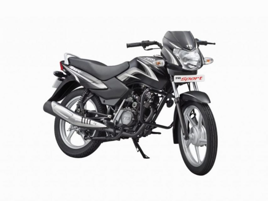 TVS Sport Silver Alloy Edition