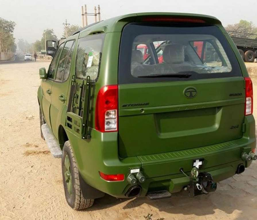 Tata Safari 4×4 delivered to Indian Army - First Detailed Photos