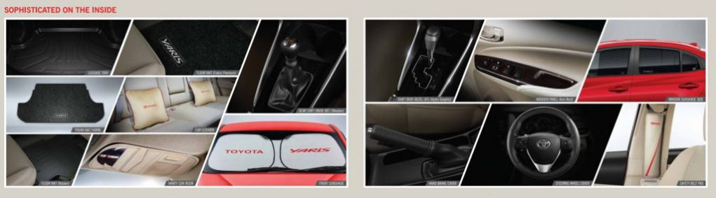 Toyota Yaris Accessories 1