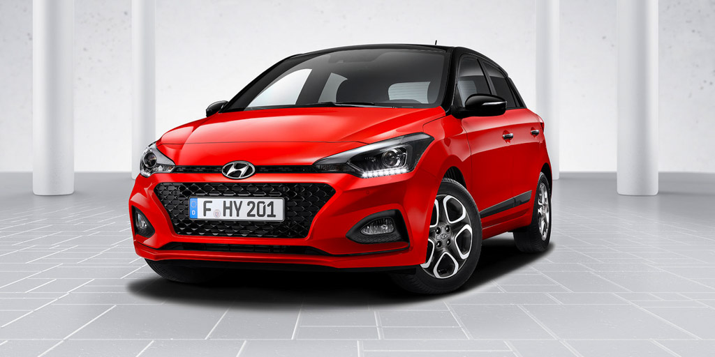 updated 2018 hyundai i20 gets new tech and 7 speed at in. Black Bedroom Furniture Sets. Home Design Ideas