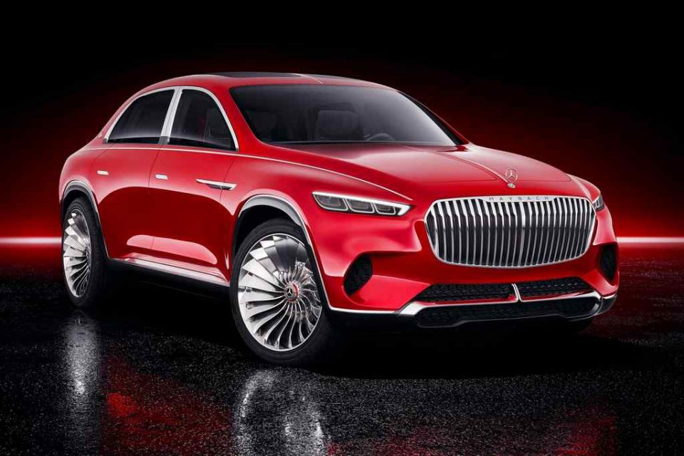 Vision Mercedes-Maybach Ultimate Luxury Concept 1