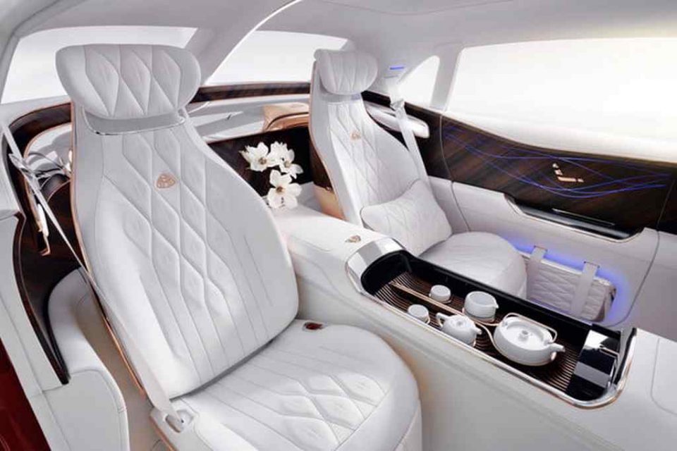 Vision Mercedes-Maybach Ultimate Luxury Concept Interior 2