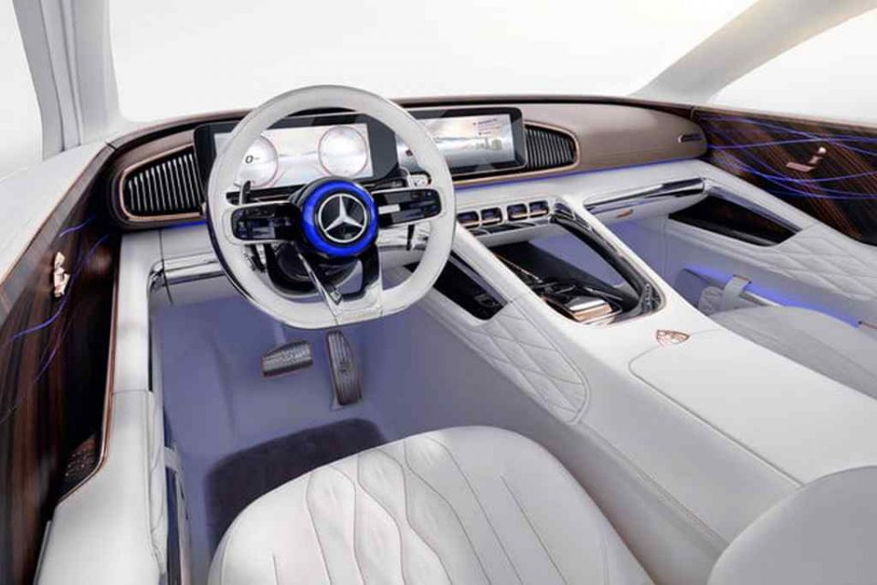 Vision Mercedes-Maybach Ultimate Luxury Concept Interior