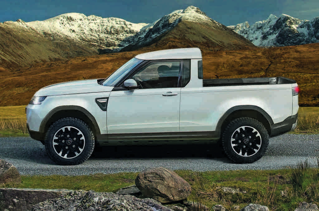 Land Rover Defender Pick-Up Truck In Development; Rivals ...